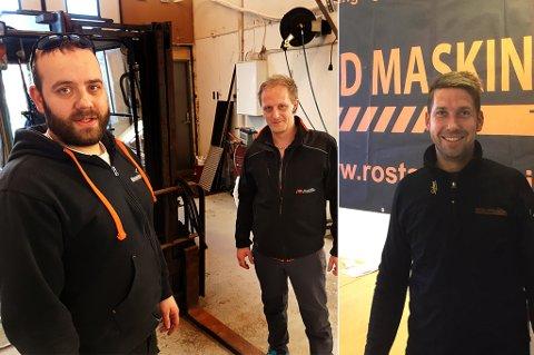EKS-KIME: Erlend Stenersen, Jørgen Mørch og Ole-Jørgen Røstad har alle jobbet for KIME. Nå driver de hvert sitt selskap.