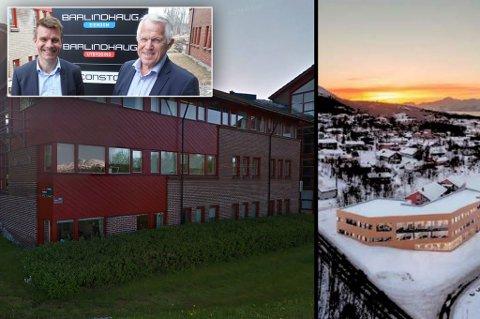 IKKE BESTEMT SEG: Kent Helge Holst (Barlindhaug) og Jens Arne Johnsen (Consto) forventer at endelig beslutning tas i mars-april.