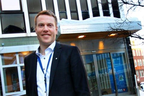 KJØPT OPP OG FUSJONERT: Stig Arne Pettersen, direktør i SpareBank 1 Nord-Norge Forvaltning.