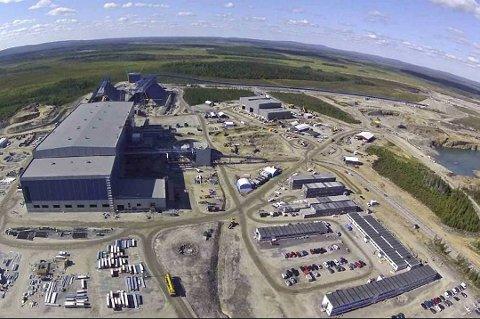 Northland t i Kaunisvaara. (Foto: Northland Resources)