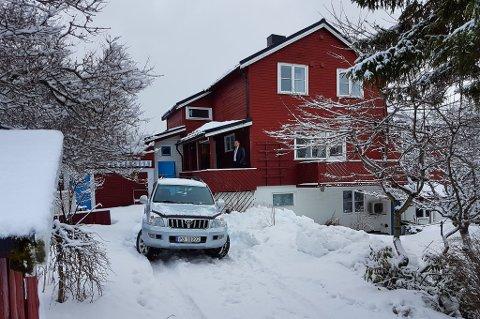 MUS OVERALT: I denne boligen i Tromsø er det konstatert store museskader.