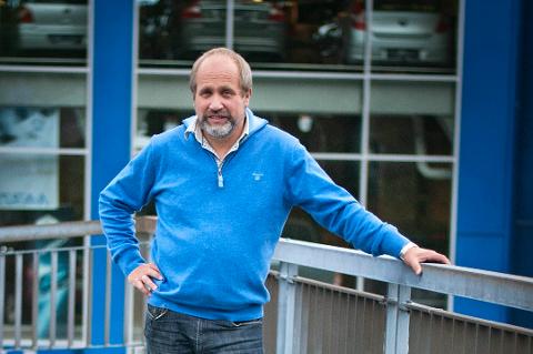 INNTEKTSFALL: Per Molund er daglig leder i Biltrend Tromsø.