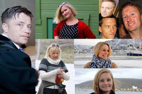 DISSE HAR KJØPT ELLER SOLGT EIENDOM I APRIL: Svein Kristian Wikstrøm, Anne Nymo Trulsen, Gunn Tove Bjerkan, Gunnar Pallesen, Terje Augdal, Trond Skogly, Kjersti Holum Karlstrøm, Asta Lassesen.