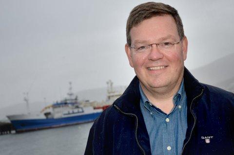 TROR PÅ OPPTUR: Administrerende direktør i Kraemer Maritime as, Kay-Hugo Hanssen, tror markedet vil bedre seg i årene som kommer.