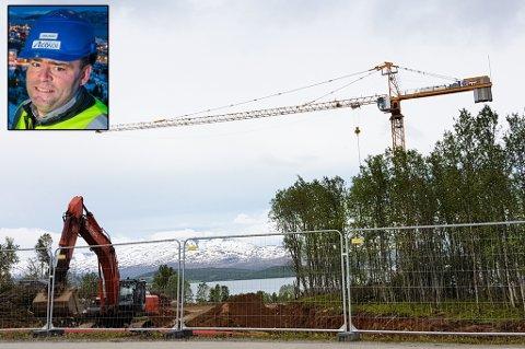 IGANG: Norrøna Boligpark er nå igangsatt. Her skal det bli plass til inntil 240 enheter. John Oskar Nyvoll er en av eierne i Econor gjennom NBK AS.