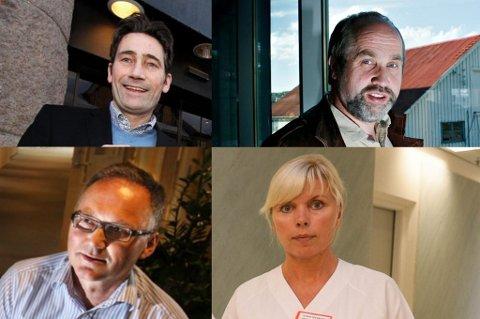 BOLIGKJØP I JUNI: Ole Ørjavik, Per Molund, Yngve Vassmyr og Torni Myrbakk