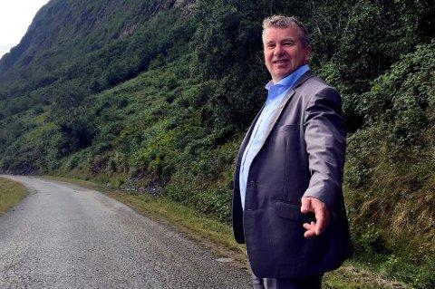 OPPGITT: Lyngen-ordfører Dan-Håvard Johnsen har fått nok av Airbnb-utleierne som gjør at kommunen har akutt boligmangel. Nå tar han grep.