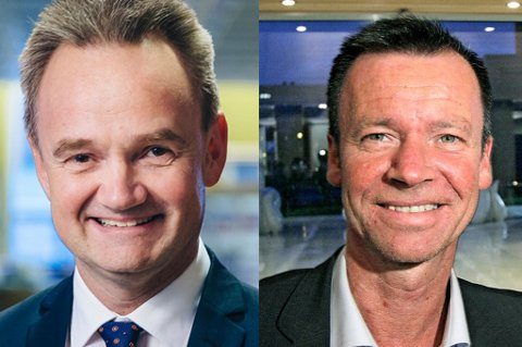 ROLLER: Jan-Frode Janson er styreleder i Agenda Nord-Norge AS, mens Roger Ingebrigtsen er daglig leder.