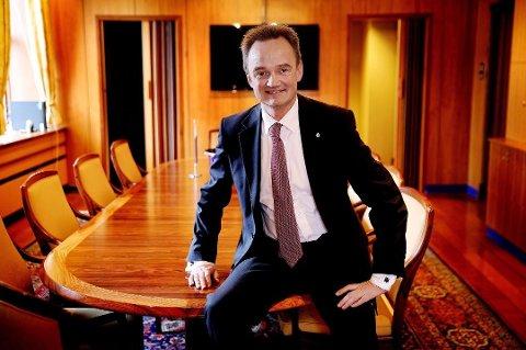 Øker med 60 millioner: Jan-Frode Janson i Sparebanken Nord-Norge.