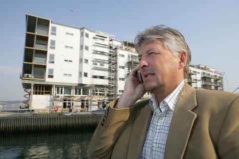 INVESTOR: Terje Johansen.
