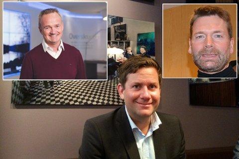 LEDERE: Jan-Frode Janson, Daniel Skjeldam og Kjetil Strand.