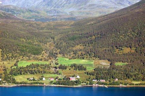 SVEINGÅRD: Her i Sveingård skal et av kraftverkene bygges.