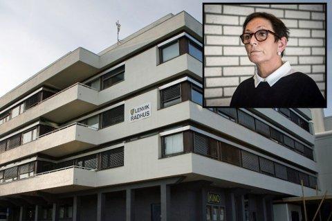 KRITIKK: Lenvik kommune får kritikk i en granskningsrapport fra KomRev Nord etter at kommunen kjøpte tjenester fra et firma der tidligere rådmann, Margrethe Hagerupsens sønn var involvert.