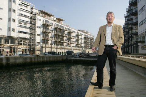 UTBYGGER: Terje Arnulf Johansen fra Finnsnes har stått bak flere store utbygginger i Tromsø gjennom selskapet TAJ.