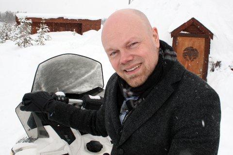 SATSER VIDERE: Hans-Olav Holtermann Eriksen driver Lyngsfjord Adventure og er medeier i Malangen Resort.