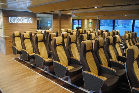 NYE BÅTER: Linje 2 vil betjenes av nybygde båter.