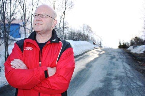 GÅR AV: Leif Erik Lintho, avtroppende rådmann i Lyngen.