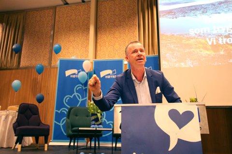 FOKUS PÅ NORD-NORGE: Roger Ingebrigtsen, daglig leder i Agenda Nord-Norge, starter eget selskap som skal drive med konferansen Agenda Nord-Norge videre.