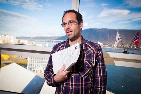 NYSATSING: Jan-Gunnar Winther, tidligere sjef på Polarinstituttet, er nå leder for en ny prestisjesatsing – et nasjonalt senter for hav og Arktis. Han skal forsøke å svare på noen av disse globale spørsmålene i et regionalt perspektiv.