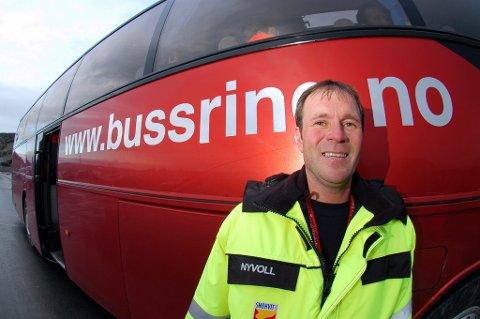 Dalig leder Henry Nyvoll i Bussring AS.