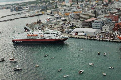 STERK MERKEVARE: Hurtigruten er en av Norges aller sterkeste merkevarer.