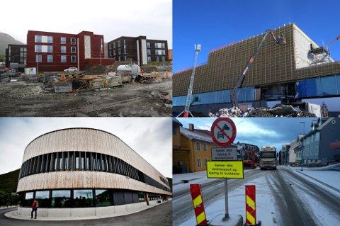 SPREKK PÅ SPREKK: Otium, Tromsøbadet, Tromstun skole og Storgatbakken.
