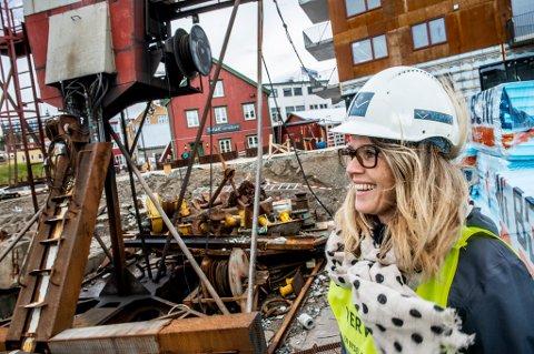 SJANSE I NORD: Mari Aston Berget sa opp drømmejobben i Oslo og tok en sjanse i nord. Det angrer hun ikke på.