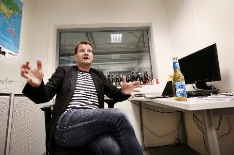 MINUS: Administrerende direktør Harald Bredrup og styret i Mack Bryggeri AS endte med et minusresultat i 2018.