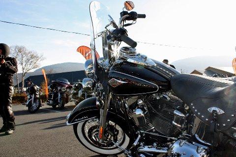 HARLEY: Tromsø Motor AS var gjennom 20 år byens eneste Harley-forhandler.