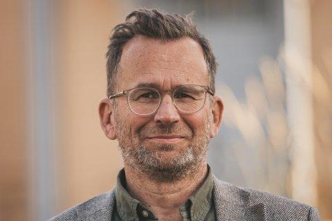 NYE PLANER: Administrerende direktør, Even Liahjell, har spreke planer for det kommunalt eide eiendomsselskapet.