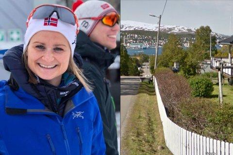 KJØPTE: June Tånes og samboeren Per Arne Pettersen er fornøyd med nytt hus.