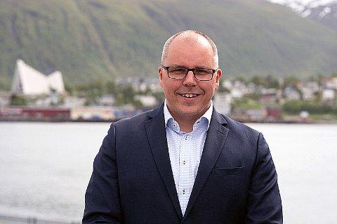 INGEN KORONA-EFFEKT: Boligprisene i Tromsø øker, tross koronakrisen. Det viser ferske tall fra Eiendom Norge for mai i 2020. Det gleder daglig leder i DNB Eiendom, Tom Eirik Larsen, som mener koronakrisen ikke har påvirket boligmarkedet.