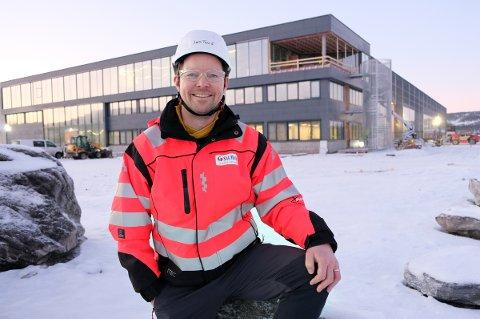 JØGER: - Dette blir fantastisk, sier fabrikksjef Jørn Tore Fjellstad om det nye anlegget Innovanor på Senja.