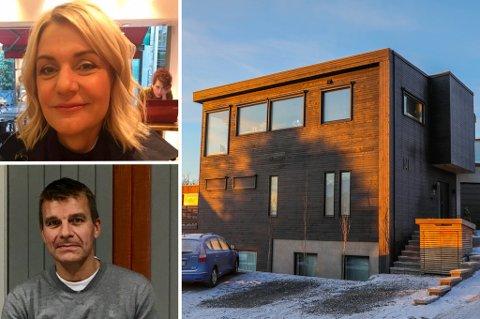 SOLGT: Maria Holst og Kent-Helge Holst har flyttet til Kveldrovegen på Tromsøya.