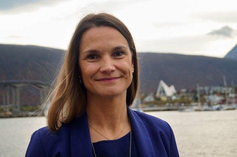 STORT BEHOV: - Det sier noe om behovet, sier Trude Nilsen  administrerende direktør i Næringsforeningen i Tromsøregionen.