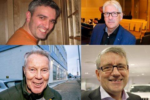 INVESTORER: Fredd-Jarle Wilsgård, Terje A. Johansen, Ernst Myrbakk og Tormod Harila.