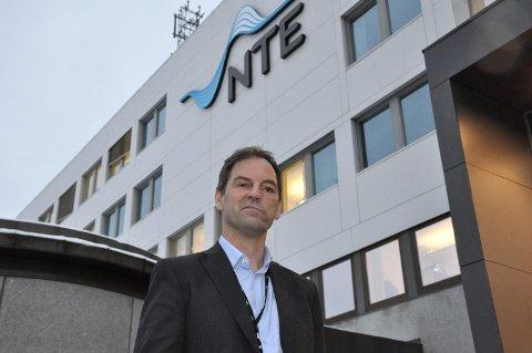 FORNØYD: Etter et år med mye regn og lave priser er NTE-direktør Christian Stav godt fornøyd med 419 millioner kroner i årsresultat.