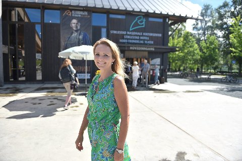 Distrikts- og digitaliseringsminister, Linda Hofstad Helleland (H) fra Klæbu bekler åttendeplassen på Kapitals liste. Arkivfoto fra Stiklestad.