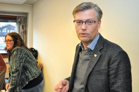 SETT FART: – Sykehuset Innlandet må nå komme til en konklusjon når det gjelder framtidens sykehusstruktur, sier Svein Håvar Korshavn. ARKIVBILDE