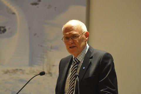 Ordfører Bjørn Iddberg