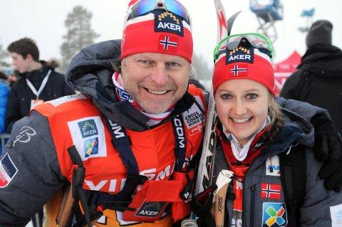 Tidligere langrennssjef Åge Skinstad har latt seg imponere av sin tidligere elev. Arkivbilde