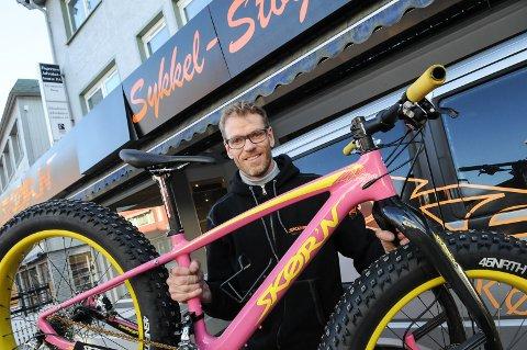 IKKE MAKEN: Kjøper du sykkel av Wubbo Boiten, er du garantert å få noe ikke alle andre har. Foto: Ingvar Skattebu