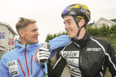 Øystein «Pølsa» Pettersen blir lagkamerat med Vetle Thyli på sistnevntes langløpslag kommende sesong.