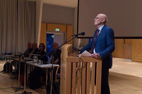 TILHENGER: Ordfører Bjørn Iddberg i Gjøvik ønsker å få til en storkommune.