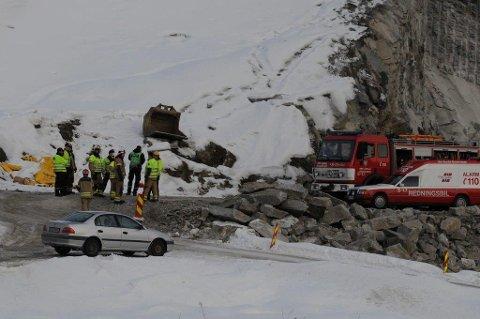 DOM ER FALT: Statens vegvesen og Brødrene Dokken AS er dømt til bøter på 500.000 kroner etter arbeidsulykken som førte til dødsfall i Bagnskleiva for fire år siden.