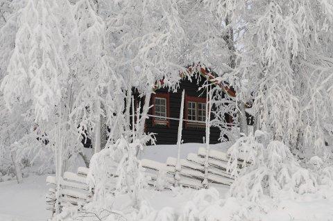 PÅ HYTTA: Den 13-årige jenta døde på ei hytte på Beitostølen. Hun og moren flyttet dit fra Bærum om lag tre måneder tidligere. Arkivbilde
