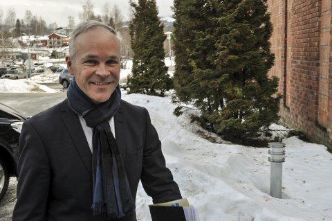 FORELESER: Kommunalminister Jan Tore Sanner. Arkivbilde