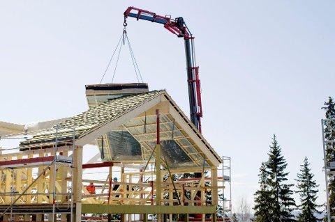 STOR BYGGEAKTIVITET: - Det er bonanza i antall byggesaker. Derfor er det lang saksbehandlingstid, opplyser Gjøvik kommune.