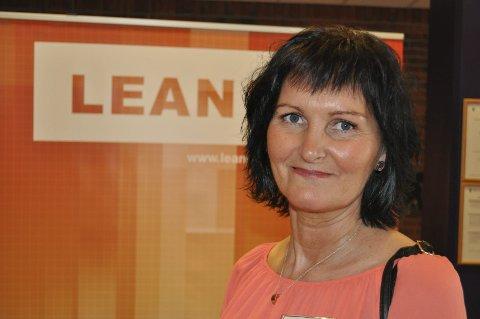 Lean-leder: Kari Bjørnerud Børthus har ledet Lean forbedringsarbeidet i Vestre Toten siden starten i 2011. De største gevinstene har vært innen omsorgssektoren, oppyser hun.