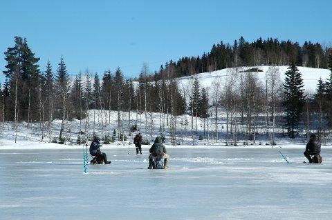 isfiske på Skonnortjernet, Snertingdal